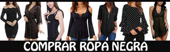 Comprar ropa negra