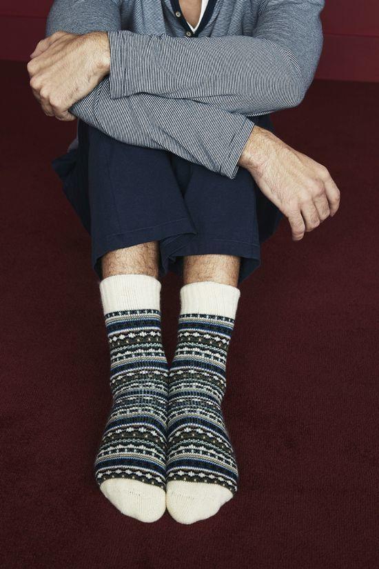calcetines de punto primark para hombre