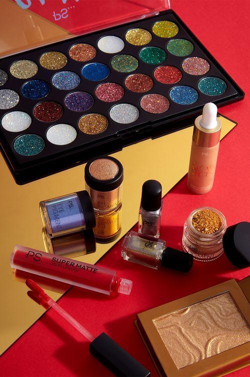 maquillaje navideÑo primark