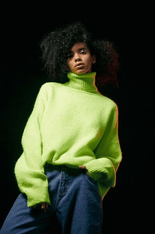 ropa fluor verde neoin de mujer
