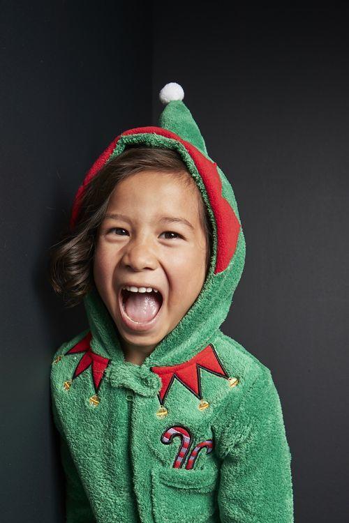 pijama entero de elfo primark niños