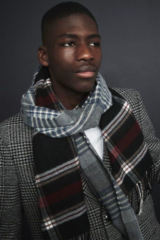 bufanda de hombre