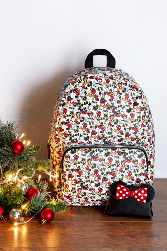 mochila primark de minnie y mickey para navidad