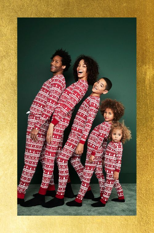 pijama navideño de hombre mujer niños