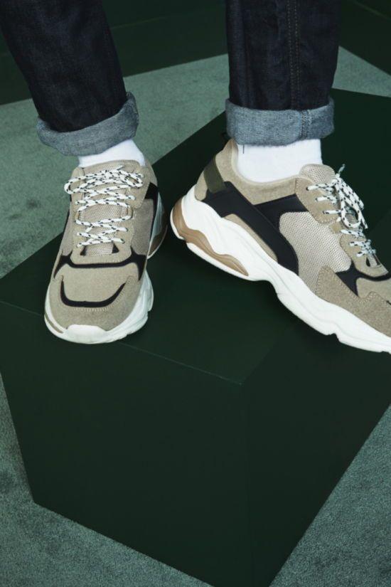 zapatillas deportivas gruesas de hombre