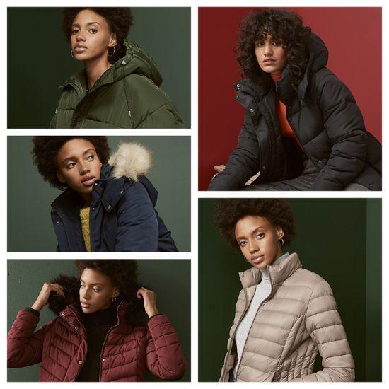 chaquetas invierno mujer pluon abrigo
