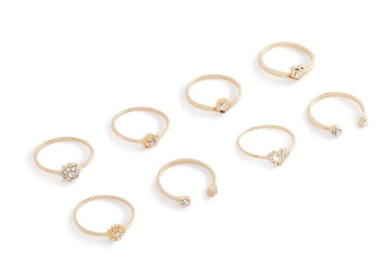primark anillos mujer pack