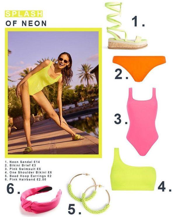 bikini flour mujer primark catalogo