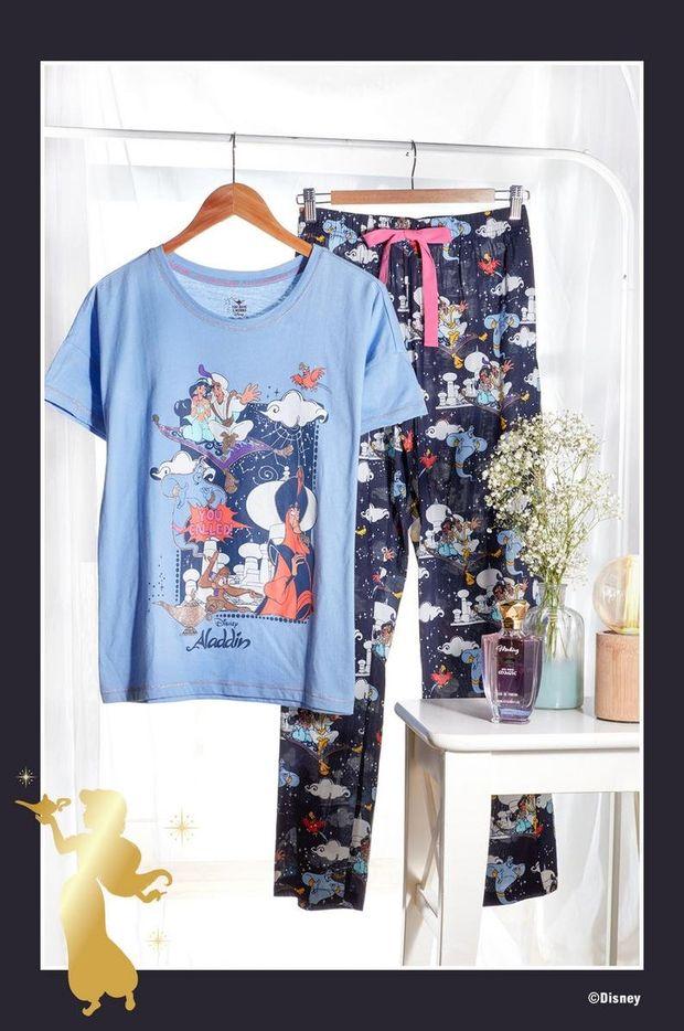 pijama mujer aladdin primark