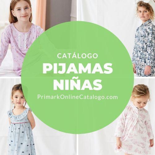 catalogo online pijamas nina primark