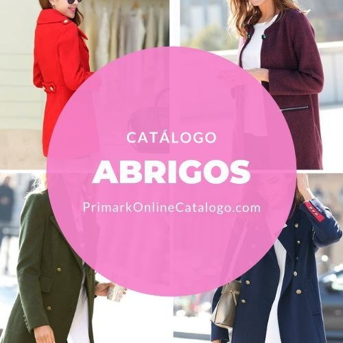 catalogo primark online abrigos mujer