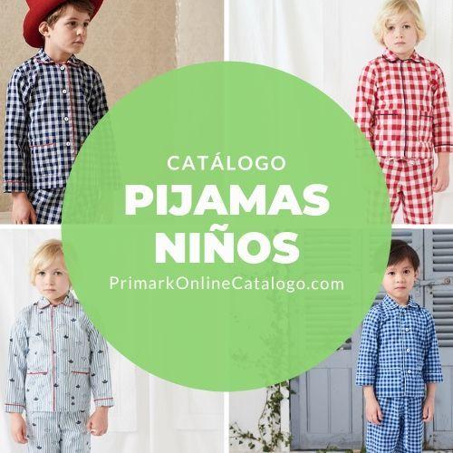 primark catalogo online pijamas nino