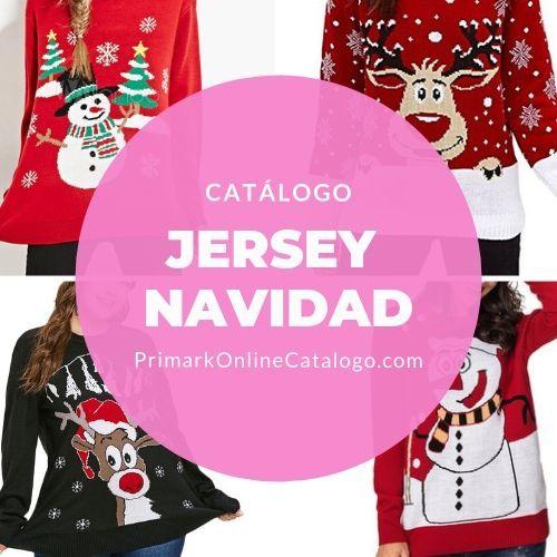 primark online catalogo jersey navidad mujer