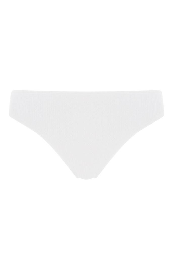 Braguita de bikini Primark blanca con textura