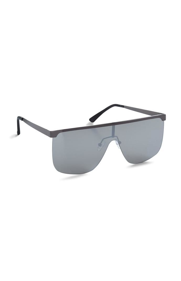 Gafas de sol Primark de espejo cuadradas negras