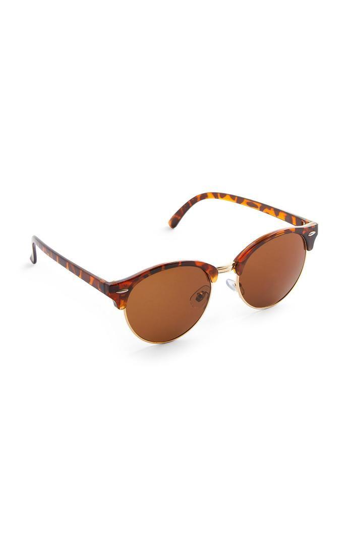 Gafas de sol Primark redondas de carey
