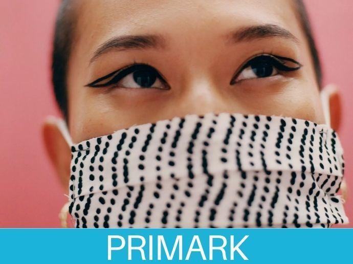 Mascarillas con seguridad y estilo en Primark