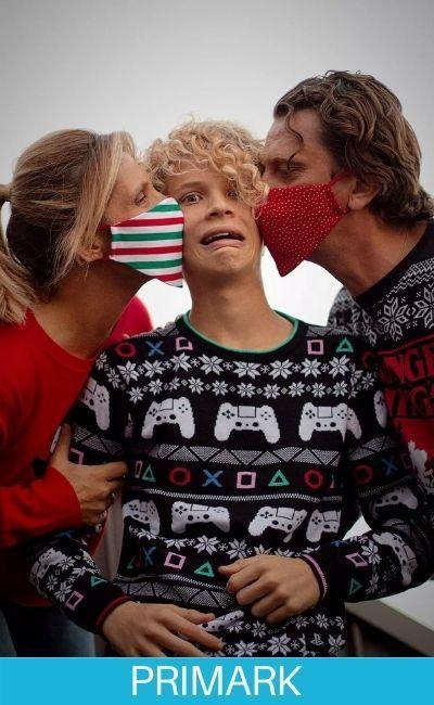 Los mejores Jerséis navideños en familia primark