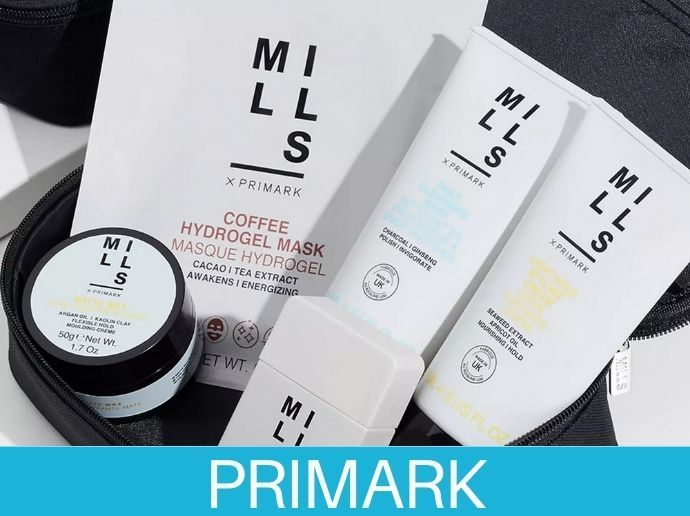 Joe Mills X Primark una gama de aseo masculino