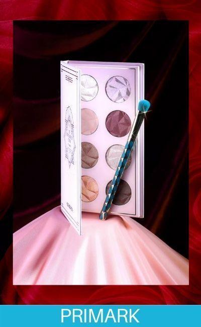 Paleta de color de maquillaje en primark