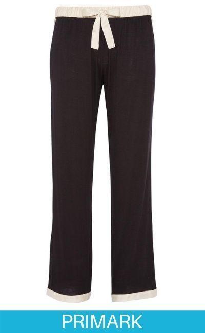 Pantalón de pijama negro en Primark