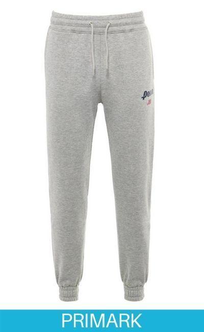Pantalones de chándal grises de la colección Penn en primark