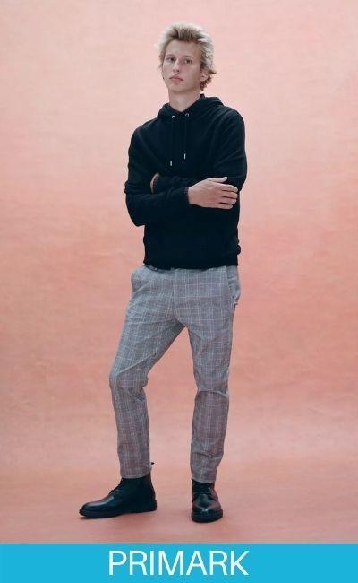 Pantalones de cuadros Temporada de moda muy sofisticada Primark