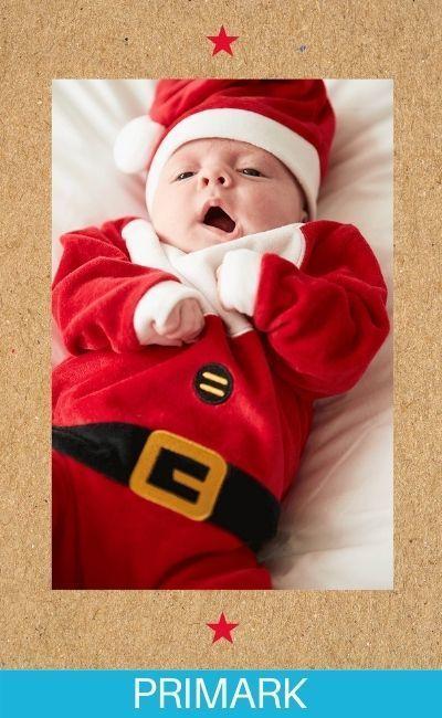 Papá Noel en navidad Primark