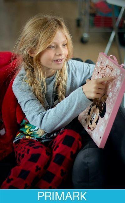 Pijamas de navidad para niña en Coleccion Primark