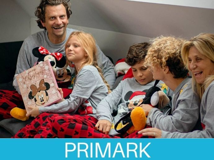 Pijamas Familiar de Primark Navideño
