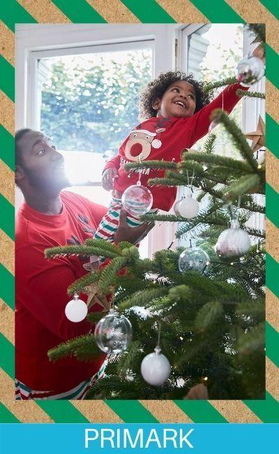 Pijama de navidad de reno en Primark