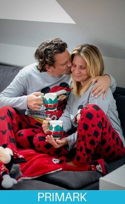 Pijamas en Oferta de parejas navideñas en Primark