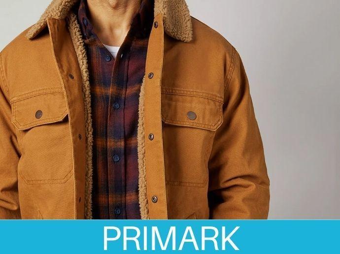 Prenda de abrigo para hombre en Primark