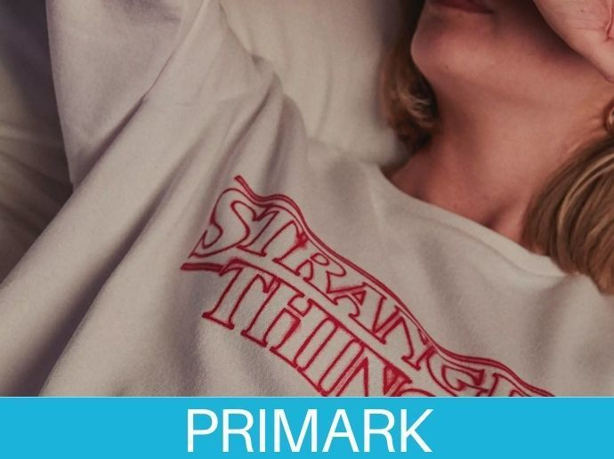 prendas de Stranger Things en Primark