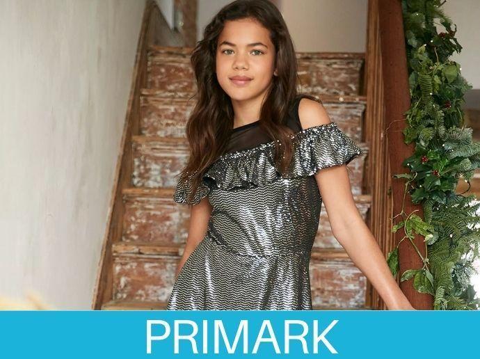 Ropa de navidad de fiestas para niña en Primark