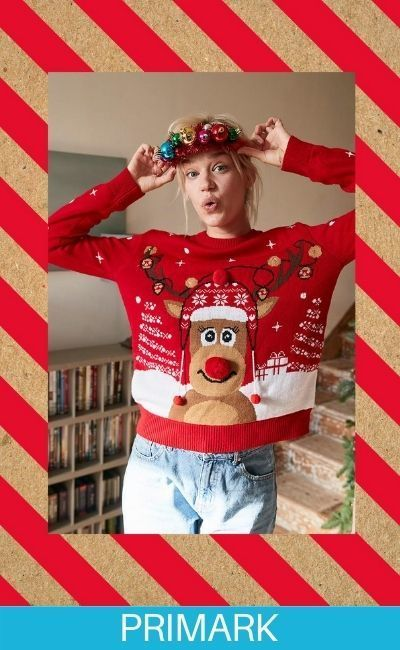 Superrecicla tu jersey navideño en Primark