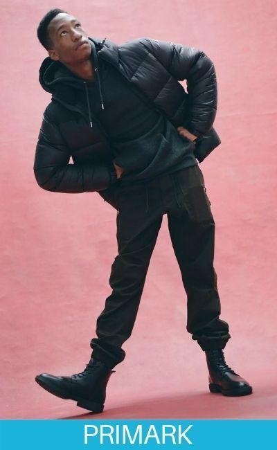 Vaqueros negros Temporada de moda muy sofisticada