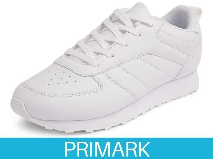 Zapatillas clásicas blancas en primark