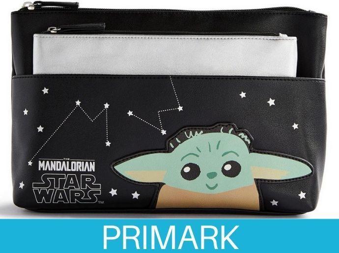 Bolso y neceser de Baby Yoda de Star Wars