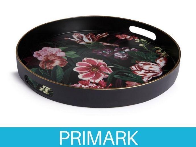 Bandeja decorativa con diseño floral Primark