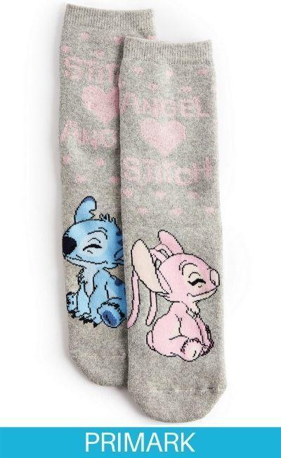 Calcetines térmicos de Stitch y Angel Primark