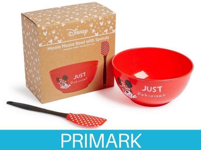 Cuenco y espátula de Mickey Mouse Primark