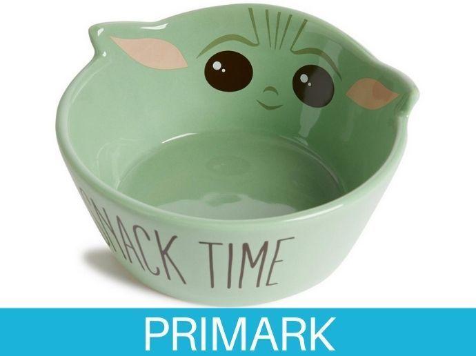 Cuenco verde para aperitivo de Baby Yoda de Star Wars Primark