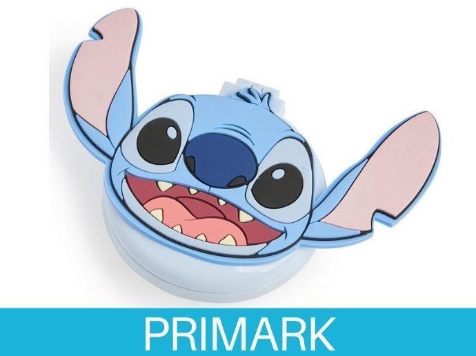 Espejo plegable con cepillo de Stitch Primark