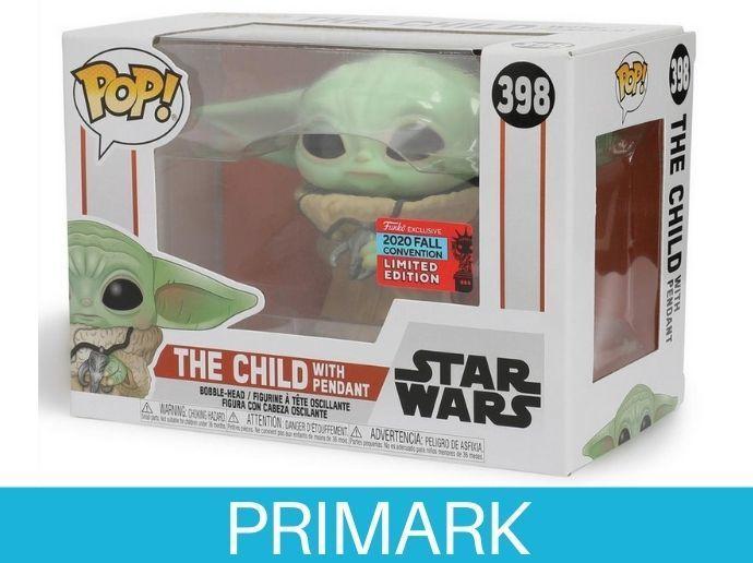 Funko exclusivo de Baby Yoda de Star Wars Primark