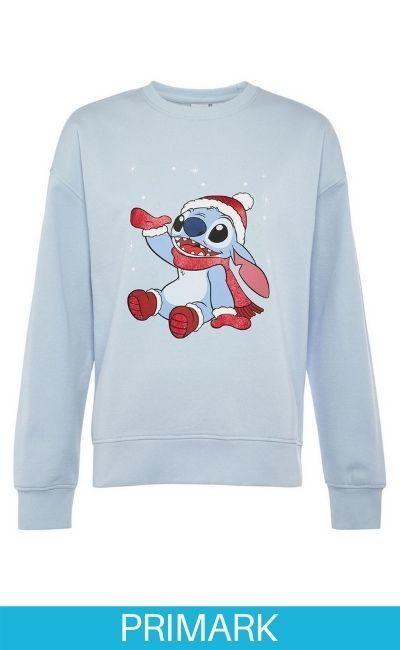 Jersey navideño de Stitch Primark