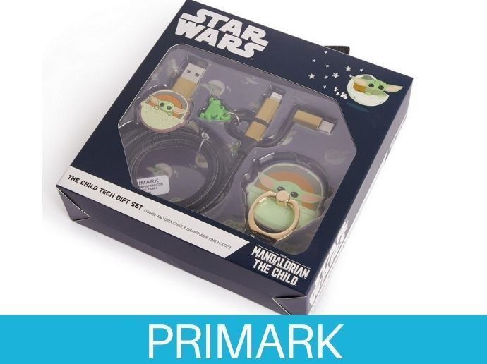 Juego de accesorios para teléfono de Baby Yoda de Star Wars Primark