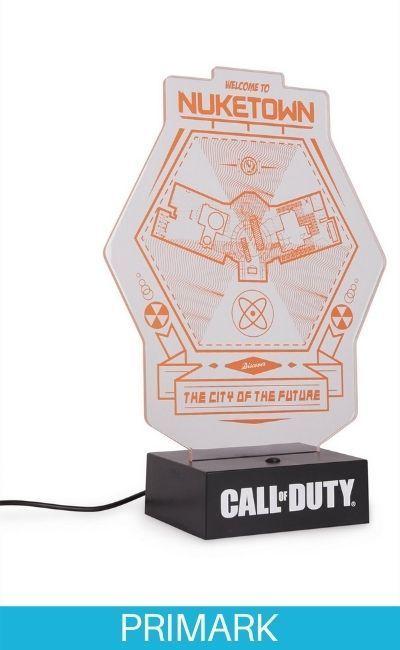 Lámpara de Call of Duty Primark