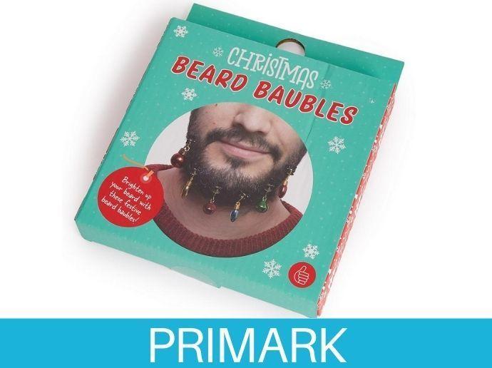 Pack de 12 bolas de Navidad para barbas Primark