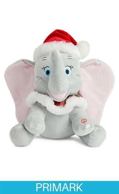 Peluche gris de Dumbo Primark